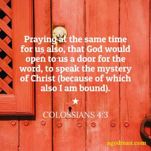 To Pray that the Door May be Opened for the Word (Crucial Point 10)