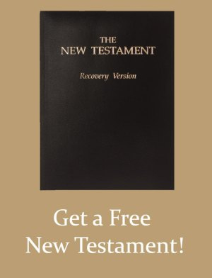 Get a free study Bible - a free Recovery Version New Testament with footnotes