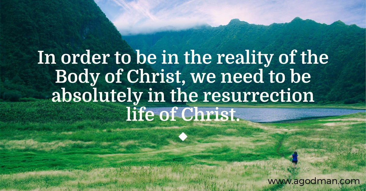 Living in Resurrection Life