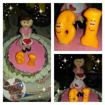 cake topper cuoca