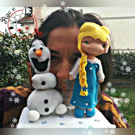 Cake topper Frozen