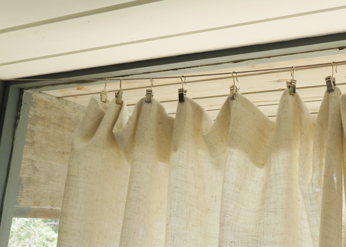 Hanging Curtains From Ceiling With Wire