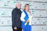 Richi Tognazzi e Simona Izzo. Foto Alfonso Romano / Ago Press
