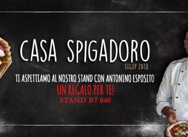 """Gusto. Antonino Esposito apre le porte di """"Casa Spigadoro"""" al Sigep di Rimini"""