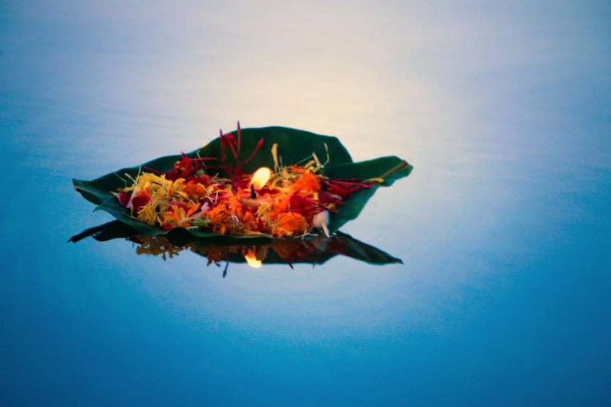 """Floating Devotions/ Hopes,"" Photograph on Fine Art Paper, 20"" x 30"""