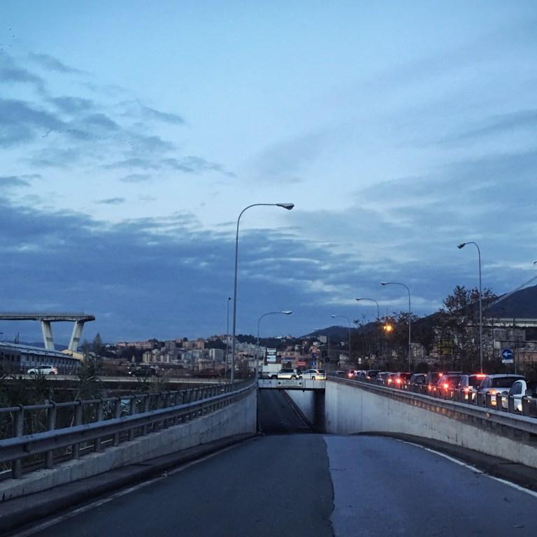 Ponte Morandi: una città divisa