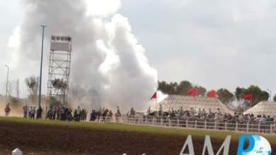 Photo of سيجارة تتسبب في حريق بمعرض الفرس بالجديدة