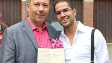 Photo of شاذ من جنسية مغربية يتزوج بموسيقي يهودي بلجيكي