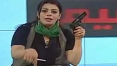 "Photo of أنباء عن مقتل مذيعة القذافي ""هالة المصراتي"" الشهيرة بحمل السلاح وتهديد ثوار ليبيا"