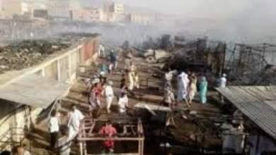 Photo of النيران تلتهم 26 محلا تجاريا بأسفي