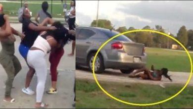 Photo of امرأة تدهس فتاة بسيارتها بعد مشاجرة بينهما