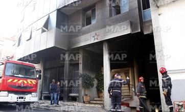 Photo of حريق بمقر الشركة الوطنية للإذاعة والتلفزة يخلف أضرارا مادية