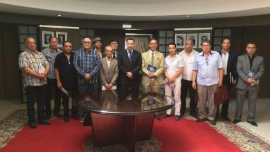 Photo of وزير الإتصال يستقبل ممثلين عن نقابات وجمعيات وفاعلين في المجال الفني