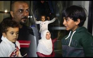 الأسر السورية التي ظلت عالقة لأسابيع على الحدود الجزائرية المغربية تصل إلى الرباط
