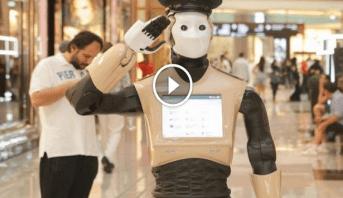 Photo of إنسان آلي ينضم لصفوف شرطة دبي لمكافحة الجريمة