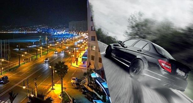 طنجة.. توقيف مجموعة من الأشخاص يسوقون سياراتهم بسرعة مفرطة