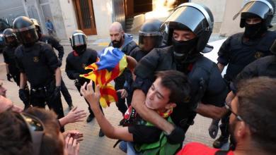Photo of فيديو: مدريد ترسل المزيد من التعزيزات الأمنية إلى كاتالونيا