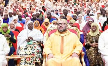 Photo of أمير المؤمنين يدشن مشروع توسعة معهد محمد السادس لتكوين الأئمة المرشدين والمرشدات