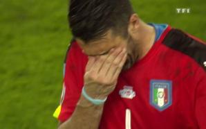 بوفون في مشهد حزين بعد ضياع التأهل لكأس العالم ويعلن…