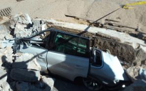 بالصور: حادث انهيار جدار مصنع بالدار البيضاء يخلف قتلى وجرحى