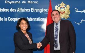 """قيادة """"أفريكوم"""" تشيد بالمجهودات التي يبذلها المغرب من أجل السلم…"""