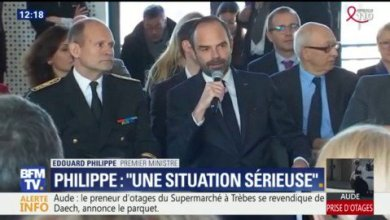 Photo of فيديو: الصور الأولى لمنطقة احتجاز الرهائن بفرنسا