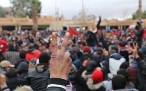 فيديوهات تؤرخ لحقيقة سلمية احتجاجات جرادة الأخيرة