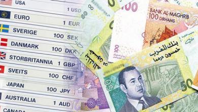 Photo of أسعار صرف العملات الأجنبية مقابل الدرهم لليوم الأربعاء