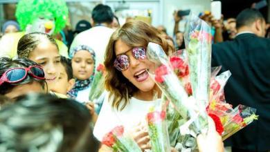 Photo of الديفا سميرة سعيد تتبرع لمرضى السرطان