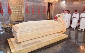 الملك أمير المؤمنين يترحم على روح المغفور له الملك محمد…