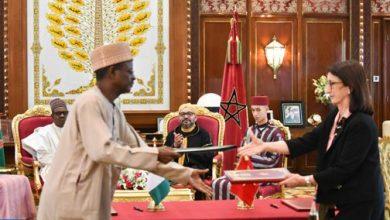 Photo of الملك والرئيس النيجيري يترأسان حفل التوقيع على ثلاث اتفاقيات للتعاون الثنائي