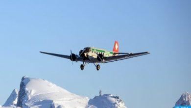 Photo of فيديو: 20 قتيلا في حادث تحطم طائرة عسكرية سويسرية قديمة