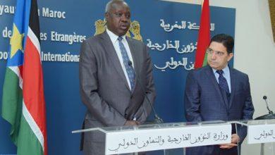Photo of جنوب السودان تعرب عن دعمها للوحدة الترابية للمملكة وتشيد بالمبادرة المغربية للحكم الذاتي
