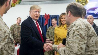 Photo of ترامب يزور العراق برفقة زوجته لتفقد الجنود الأمريكيين