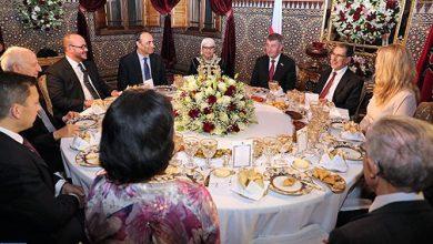 Photo of الملك محمد السادس يقيم مأدبة عشاء على شرف الوزير الأول التشيكي