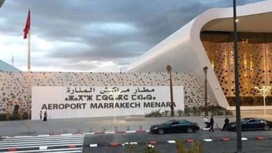 Photo of مطار مراكش يسجل ارتفاعا في حركة النقل الجوي