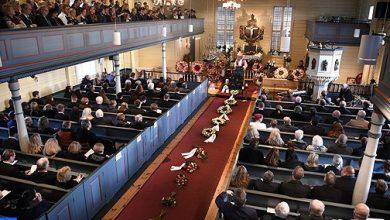 Photo of النرويج: مراسيم تشييع جنازة مارين أولاند إحدى ضحيتي جريمة القتل في إمليل
