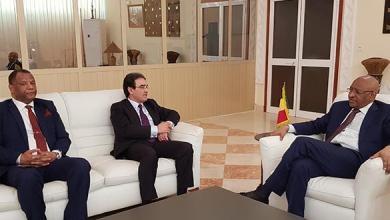 Photo of الوزير الأول المالييستقبل بباماكو عبد الكريم بنعتيق