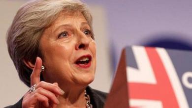 "Photo of رئيسة الوزراء البريطانية تعتبر هزيمة تنظيم داعش ""منعطفا تاريخيا"""