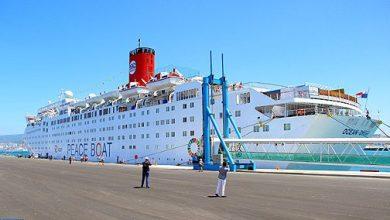 """Photo of """"باخرة السلام"""" اليابانية ترسو بميناء طنجة دعما لجهود مكافحة التغيرات المناخية"""