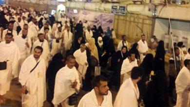 Photo of ضيوف الرحمان يقفون على صعيد عرفة لأداء ركن الحج الأعظم