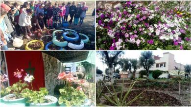 Photo of المغرب بالصور والفيديو: أهالي مدينة سيدي قاسم يحولون أماكن مهجورة إلى حدائق من الزهور