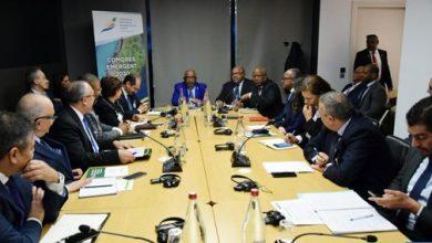 Photo of الرئيس غزالي عثماني يستقبل الوفد المغربي المشارك في مؤتمر شركاء التنمية في جزر القمر