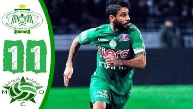Photo of ملخص مباراة الرجاء البيضاوي ومولودية وجدة 1-1
