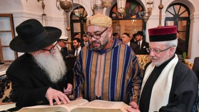 Photo of الصويرة: جلالة يقيم مأدبة عشاء على شرف أعضاء الطائفة اليهودية المغربية والشخصيات المدعوة