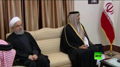 Photo of فيديو: أمير قطر يلتقي علي خامنئي في طهران