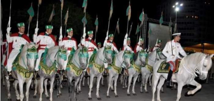 Photo of احتفالات كبرى بمدينة الدارالبيضاء في الذكرى الرابعة عشرة لعيد العرش