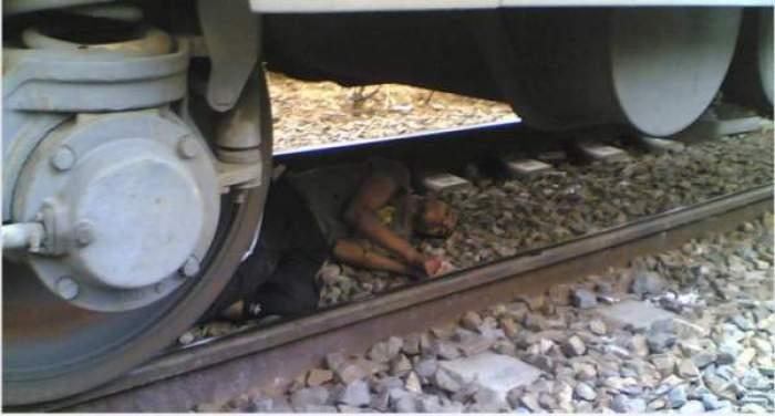 "Photo of بالصورة: نجاة رجل من الموت صدمه قطار في الرأس بالقرب من ""المجزرة البلدية"" بالبيضاء"