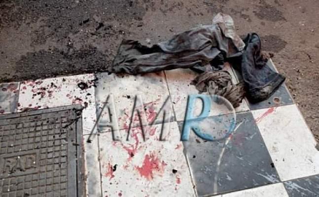 Photo of حصري بالصور: شخص يحرق نفسه بالحي المحمدي ويستنجد بـ مبرد المثلجات