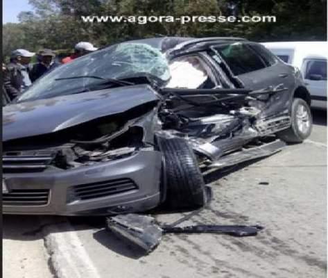 Photo of صورة حصرية: حادثة سير خطيرة بالقرب من الجديدة